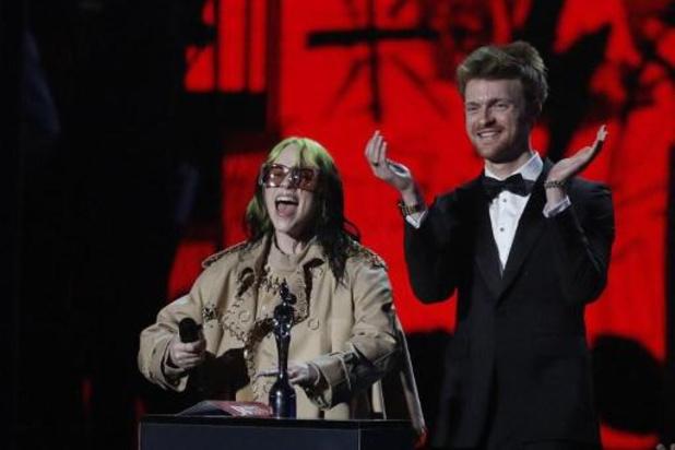 Billie Eilish bij winnaars van Brit Awards