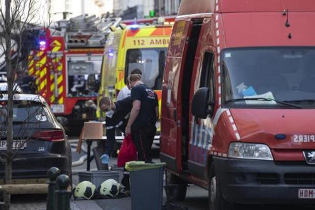 Woningbrand in Laken: twee slachtoffers overleden