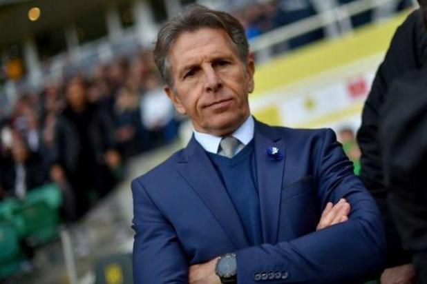 """Claude Puel et Saint-Etienne vont jouer """"une demi-finale"""" contre La Gantoise"""