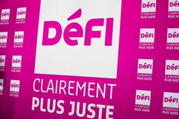Deux candidatures wallonnes pour l'élection à la présidence de DéFI