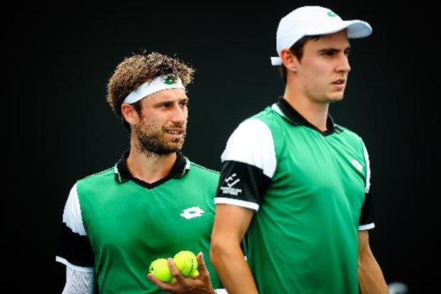 Sander Gillé en Joran Vliegen staan zonder te spelen in kwartfinales ATP Madrid