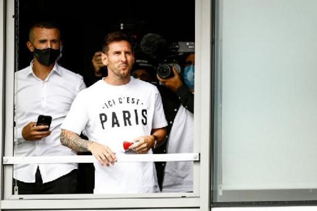 Le Paris Saint-Germain publie une première vidéo de l'arrivée de Lionel Messi