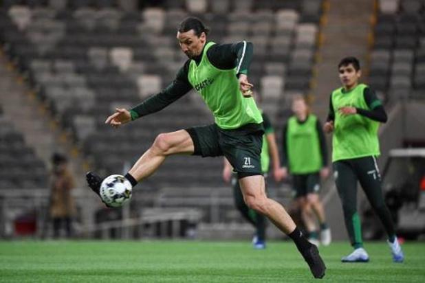 Nouvelles rassurantes pour Zlatan Ibrahimovic, le tendon d'Achille n'est pas touché