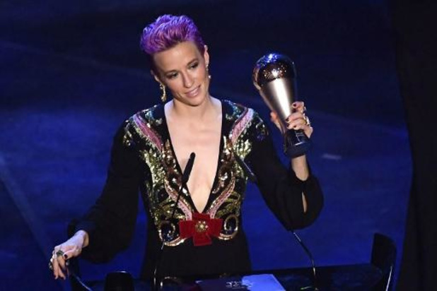 The Best FIFA Football Awards - Amerikaanse voetbalster Megan Rapinoe de beste