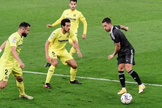 Belgen in het buitenland - Real Madrid geraakt niet voorbij Villarreal