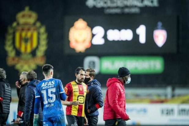 Jupiler Pro League - Malines bat Mouscron, l'Excel lanterne rouge