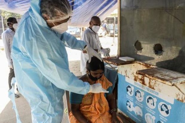 Werelddagrecord van bijna 315.000 besmettingen in India