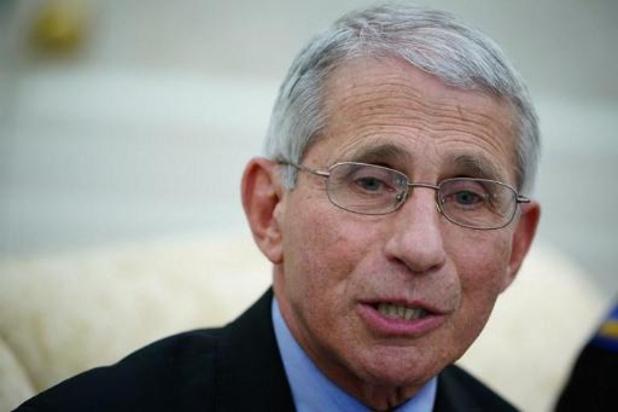 Topadviseur Fauci waarschuwt VS voor voorbarige versoepeling maatregelen