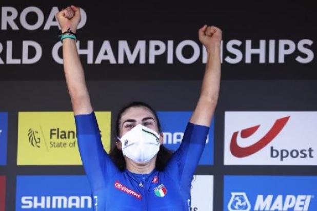 WK wielrennen - Balsamo krijgt haar revanche