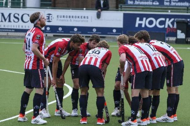 Belgian Men Hockey League - Le Léopold bat l'Orée 3-1et reprend avec les Woluwéens la tête du championnat