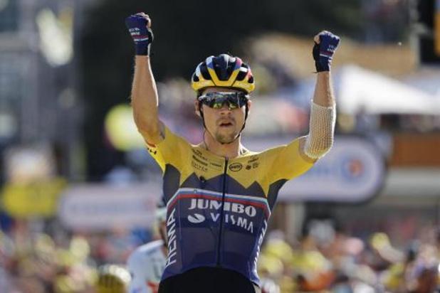 """Tour de France: Primoz Roglic après la démonstration de son équipe: """"On doit continuer à travailler"""""""
