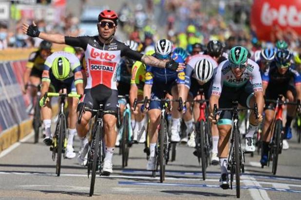 Caleb Ewan wint derde etappe Baloise Belgium Tour