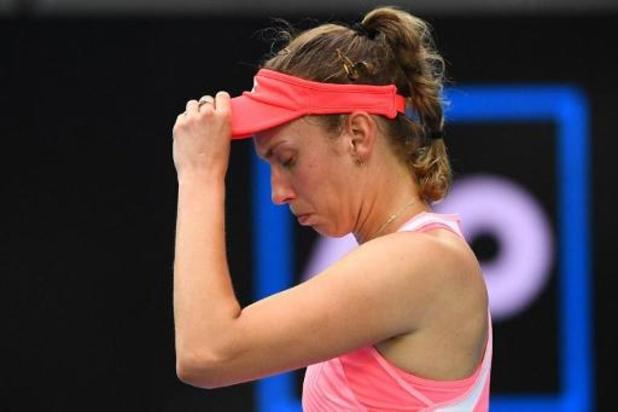 Elise Martens s'incline face à la Tchèque Karolina Muchova en huitièmes de finale