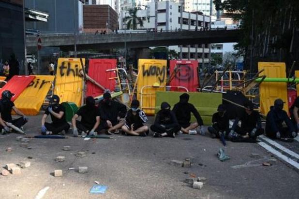 Mouvement de contestation à Hong Kong - Une manifestation pro-police, après une semaine de chaos