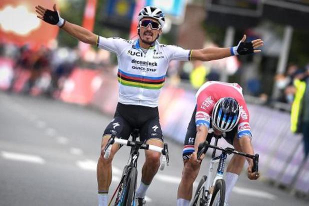 Deceuninck-Quick Step signe une 9e saison de suite avec le plus grand nombre de victoires