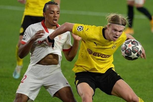 Champions League - Dortmund wint met invaller Meunier bij Sevilla, Juventus gaat onderuit in Porto
