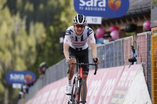 """Kelderman prend le maillot rose au terme de """"la course la plus difficile de sa vie"""""""