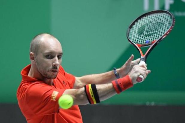 Davis Cup: Darcis klopt Giraldo vlot en brengt België tegen Colombia op voorsprong