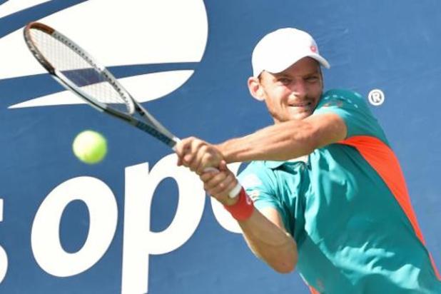 """US Open - David Goffin qui affronte Shapovalov en huitièmes de finale : """"Il a un super bras"""""""
