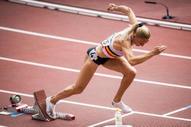 JO 2020 - Hanne Claes, éliminée en séries du 400 m haies, a couru avec une facture de stress
