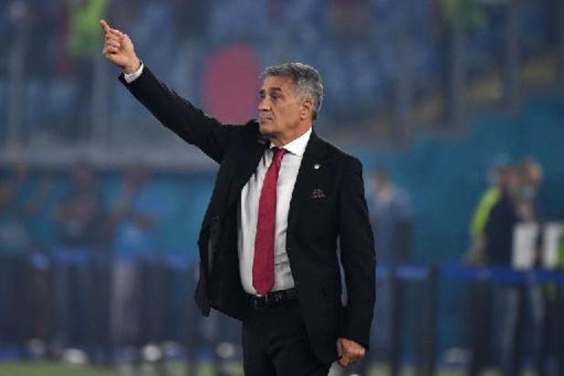 """EK 2020 - Turkse bondscoach Günes na verlies: """"Italië speelde heel dominant"""""""