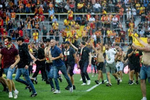 Ligue 1 - Lens veroordeelt incidenten tijdens derby tegen Rijsel