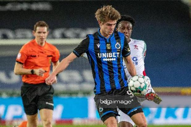 Charles De Ketelaere a repris les entraînements au Club de Bruges