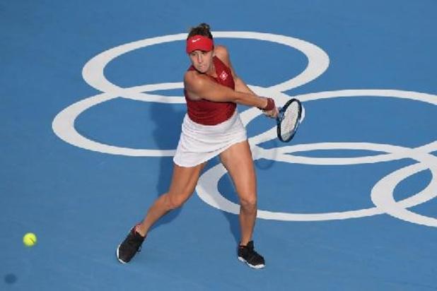 Belinda Bencic plaatst zich als eerste voor tennisfinale