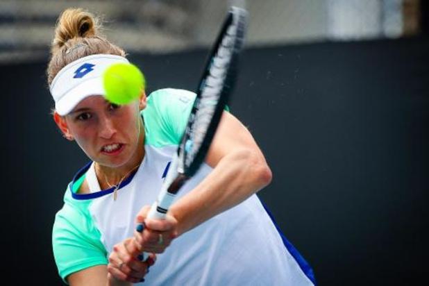 Open d'Australie - Elise Mertens qualifiée en trois sets pour les 8e de finale