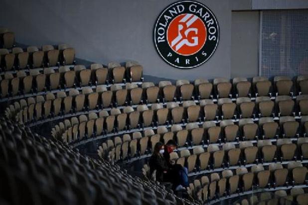 Maximaal 5.000 fans welkom bij finales Roland Garros