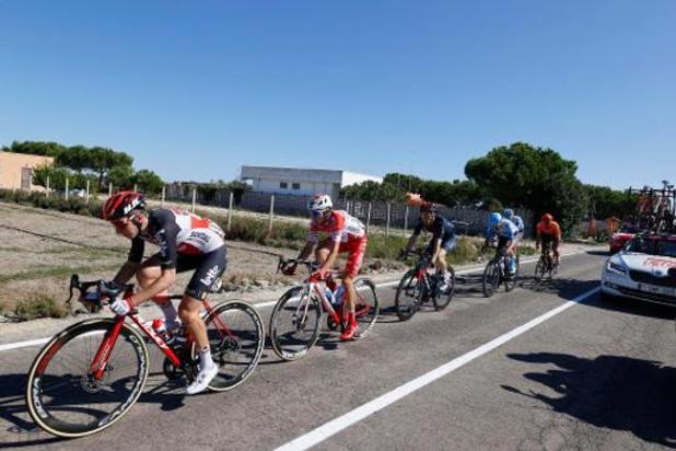Tour d'Italie - Le Britannique Alex Dowsett, un vainqueur très ému à la recherche d'un contrat pour 2021