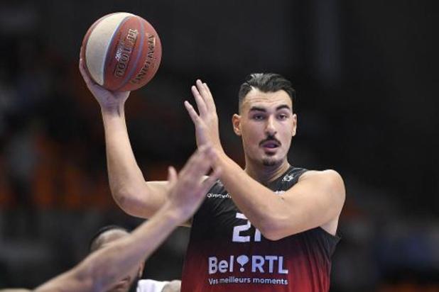 Euromillions Basket League - Charleroi klopt leider Oostende na verlenging
