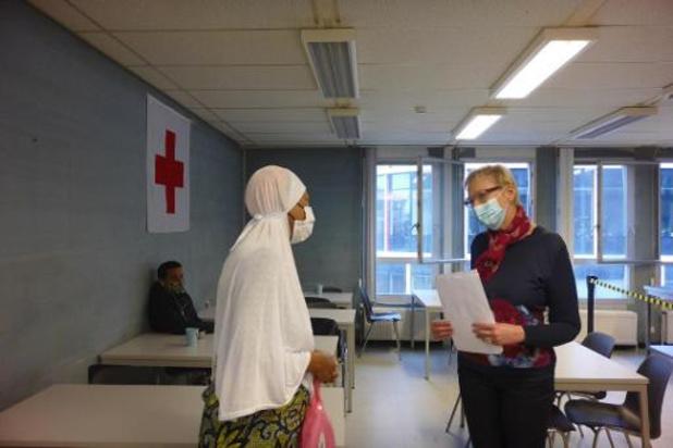 Minister Lalieux bezoekt Brussels daklozencentrum
