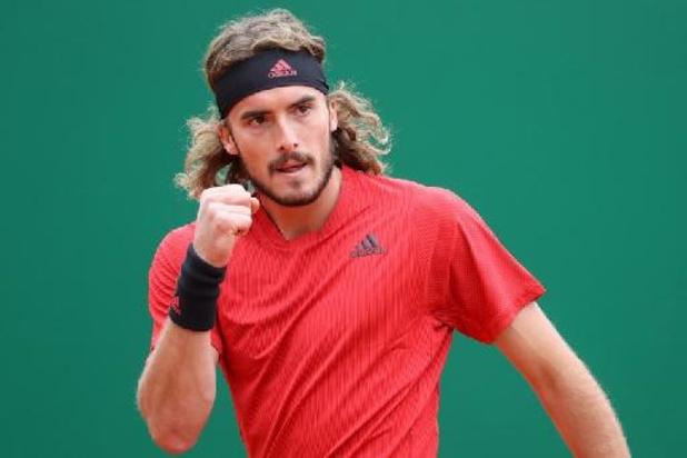Stefanos Tsitsipas steekt eindwinst ATP Monte Carlo op zak