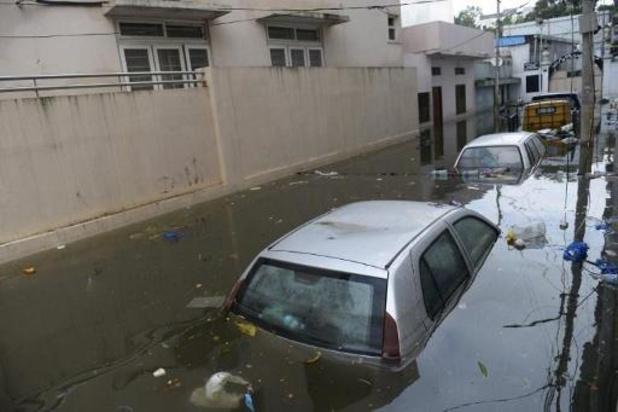 De fortes pluies font au moins 30 morts dans le Sud de l'Inde
