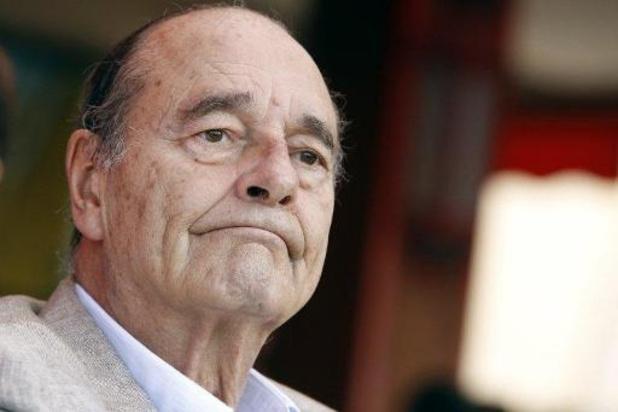 Franse ex-president Jacques Chirac overleden