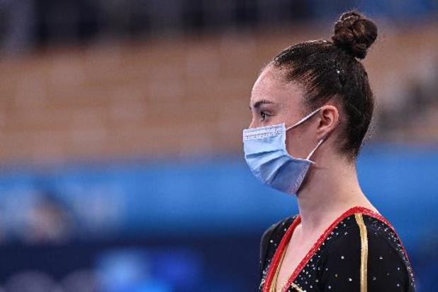 Nina Derwael se hisse en finale des barres asymétriques