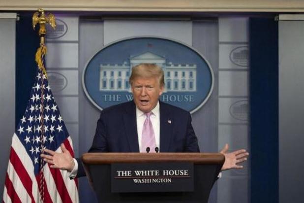 Coronavirus - Trump hoopt snel gevulde sportstadions te zien in VS