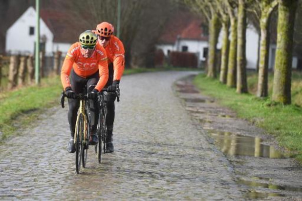 Van Avermaet en Trentin leiden CCC in Vlaams openingsweekend