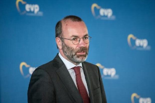 EVP kiest opnieuw voor Manfred Weber als fractieleider in Europees Parlement