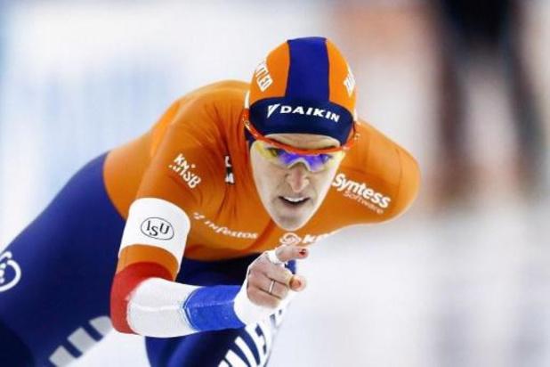 WK schaatsen - Ireen Wüst verlengt wereldtitel op 1.500 meter