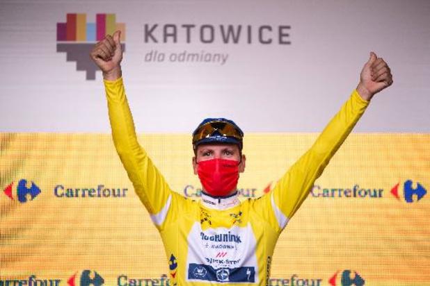 Ronde van Polen - Portugees Almeida stelt eindzege veilig, Nederlander Van den Berg wint slotrit