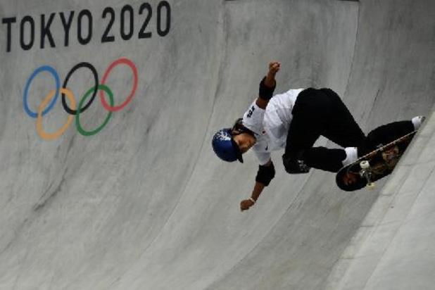 JO 2020 - Skateboard: la Japonaise Sakura Yosozumi, première championne olympique de park