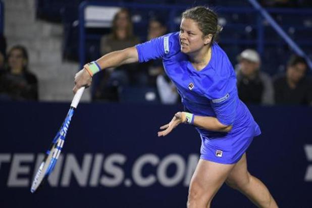 Kim Clijsters gagne un simple et deux doubles aux Etats-Unis
