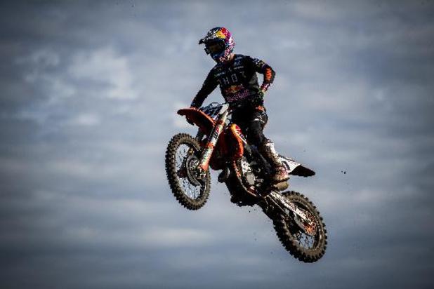 Après sa collision en motocross avec Herlings dimanche, l'Espagnol Jorge Prado (KTM) opéré