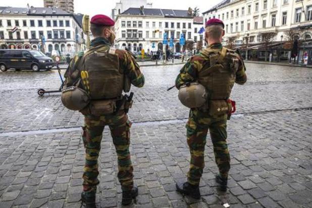 Pas de menace terroriste accrue à court terme en Belgique