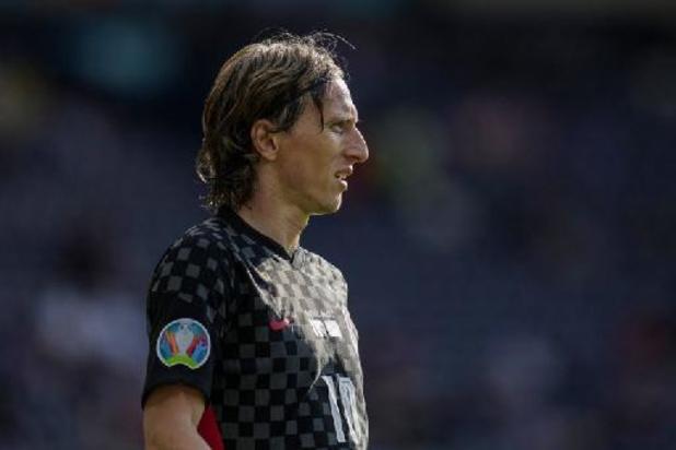"""Man van de Match Luka Modric zat met gemengde gevoelens: """"Hadden kunnen winnen"""""""