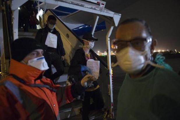 Acht Belgen in quarantaine mogen zondag terug naar huis