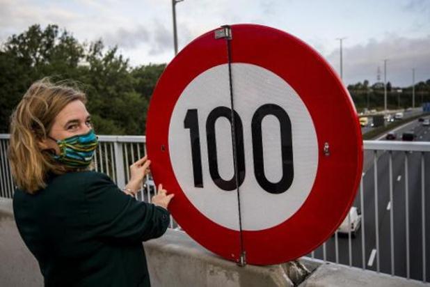 De nouveaux panneaux pour limiter la vitesse sur le Ring de Bruxelles