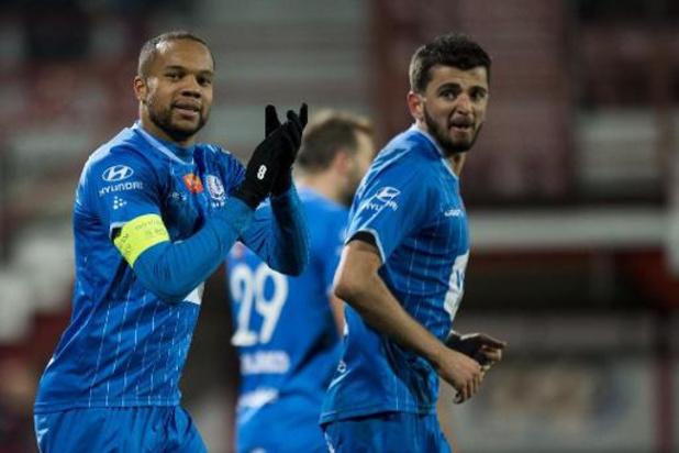 Jupiler Pro League - AA Gent pakt derde plaats met 0-2 zege in Kortrijk